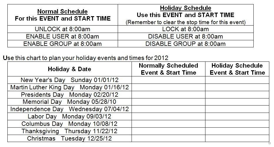 NAPCO Technical Library – Schedule a Worksheet